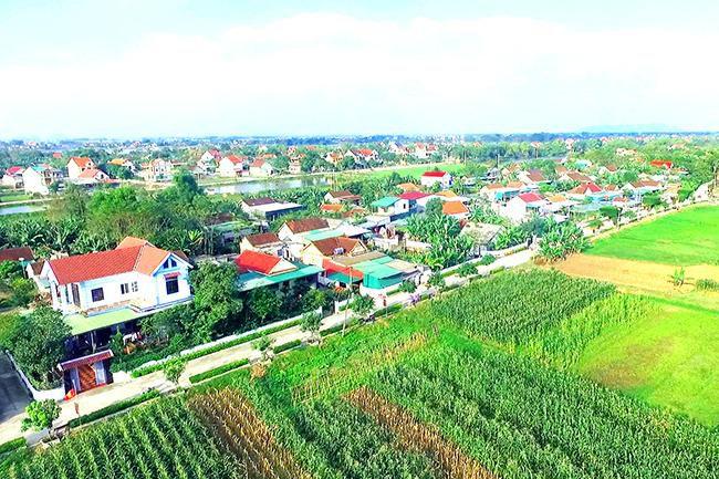 Công nhận Đức Thọ đạt chuẩn huyện nông thôn mới Ảnh 1