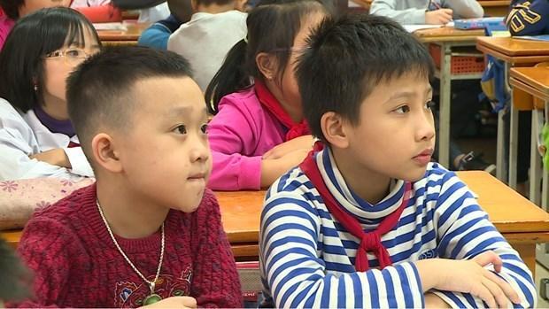 Hà Nội: Hơn 3.000 học sinh dự tuyển lớp 6 chương trình song bằng Ảnh 1