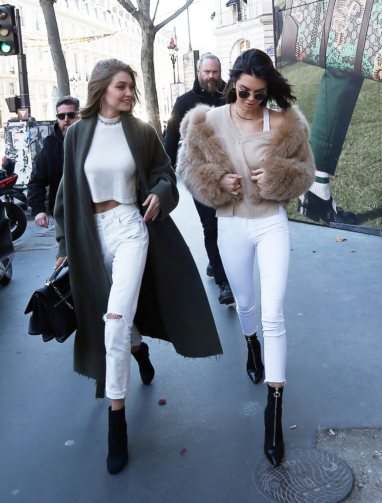 Cặp bạn thân Ngọc Trinh - Diệu Nhi, Kendall và Gigi mặc gì cũng hot, khiến dân tình sôi sục Ảnh 7