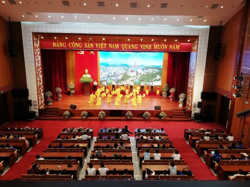 Chương trình nghệ thuật chào mừng thành công Đại hội Đảng bộ Khối các cơ quan tỉnh Ảnh 3