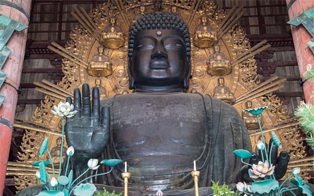 Bí ẩn về bức tượng Phật bị... rụng tóc tại Nhật Bản Ảnh 1