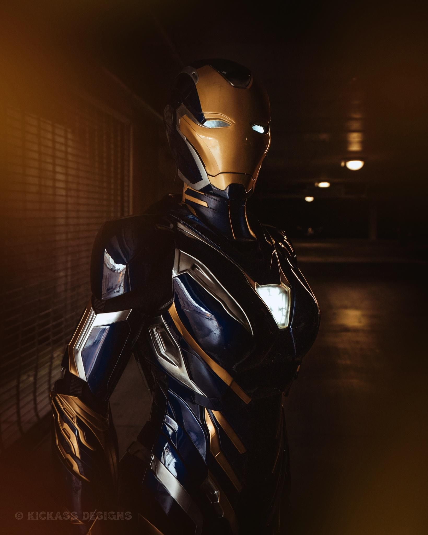 Avengers: Endgame: Bộ giáp Rescue ngoài đời thực sẽ trông như thế nào? Ảnh 11