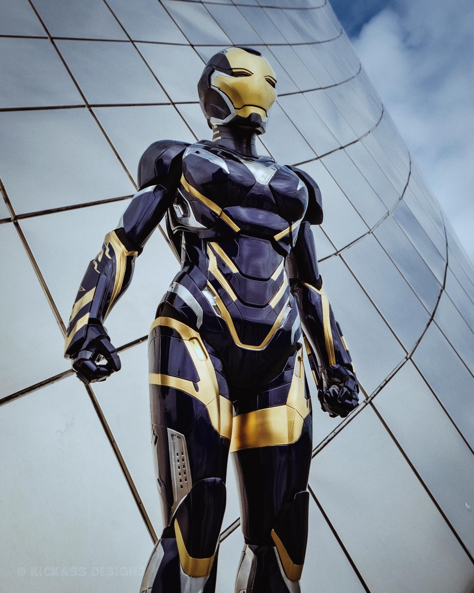 Avengers: Endgame: Bộ giáp Rescue ngoài đời thực sẽ trông như thế nào? Ảnh 5