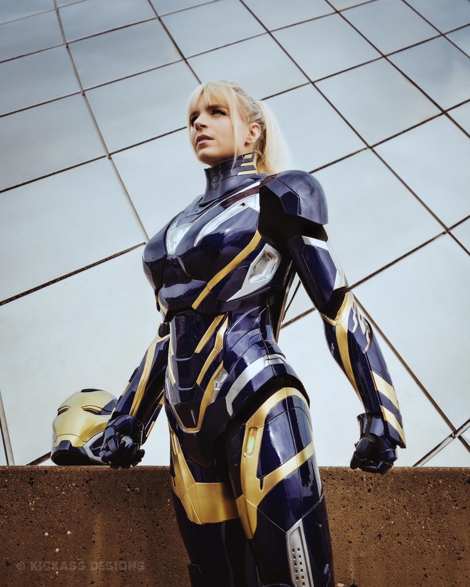 Avengers: Endgame: Bộ giáp Rescue ngoài đời thực sẽ trông như thế nào? Ảnh 2