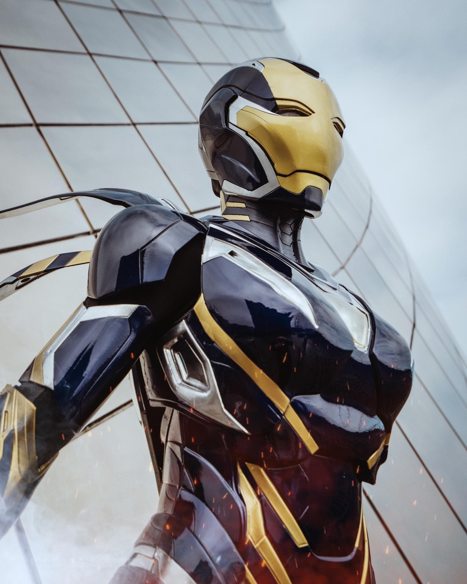 Avengers: Endgame: Bộ giáp Rescue ngoài đời thực sẽ trông như thế nào? Ảnh 6