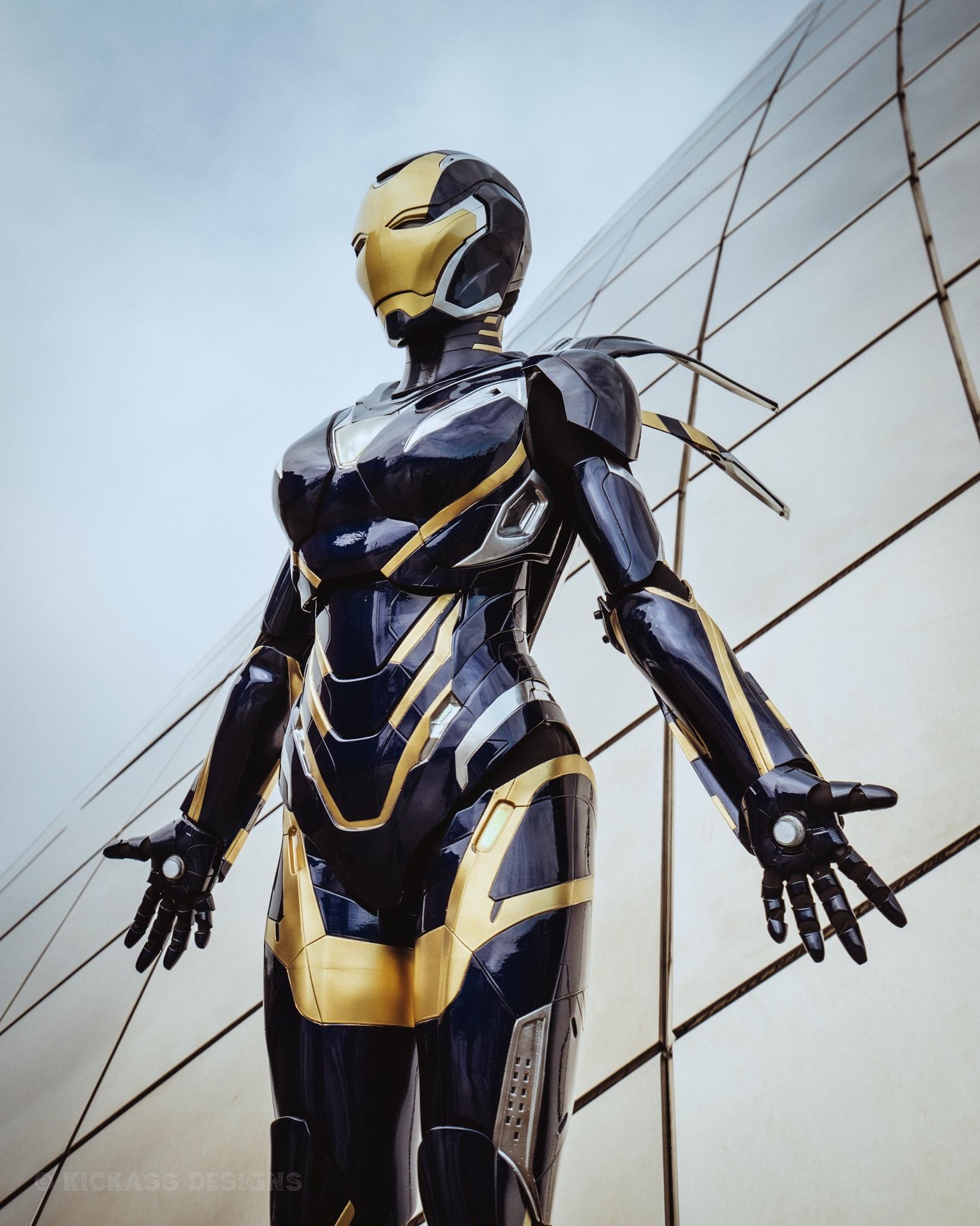 Avengers: Endgame: Bộ giáp Rescue ngoài đời thực sẽ trông như thế nào? Ảnh 7