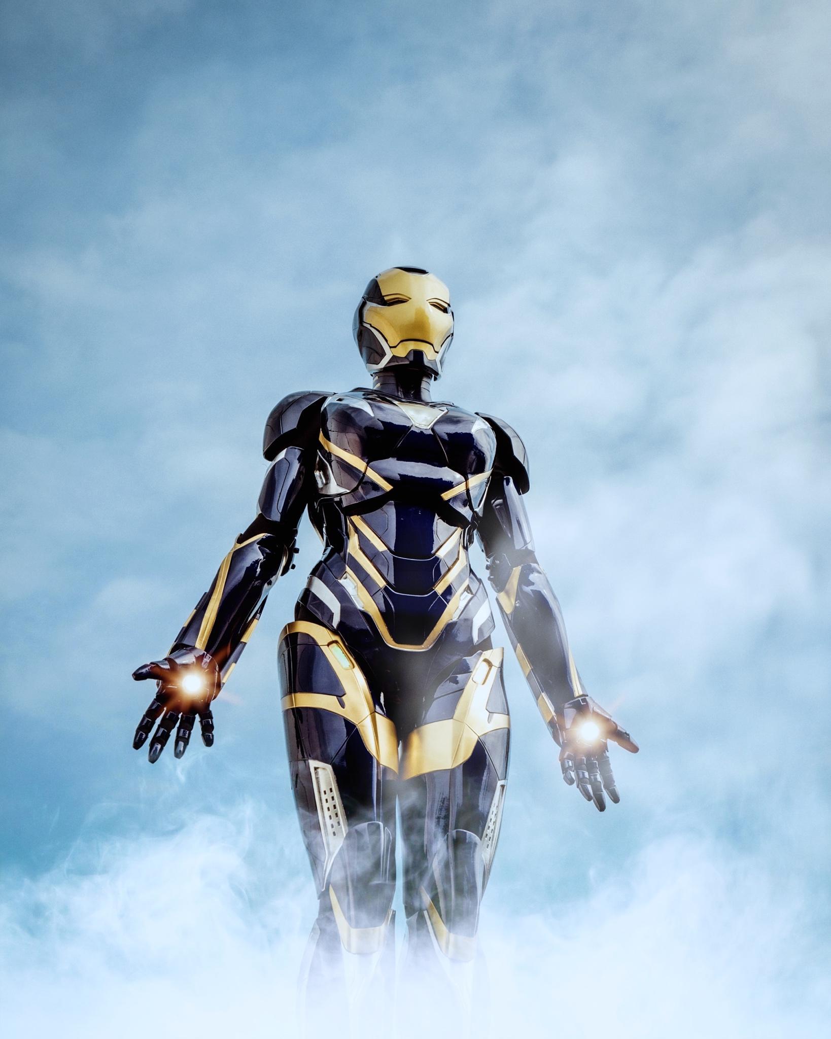 Avengers: Endgame: Bộ giáp Rescue ngoài đời thực sẽ trông như thế nào? Ảnh 10