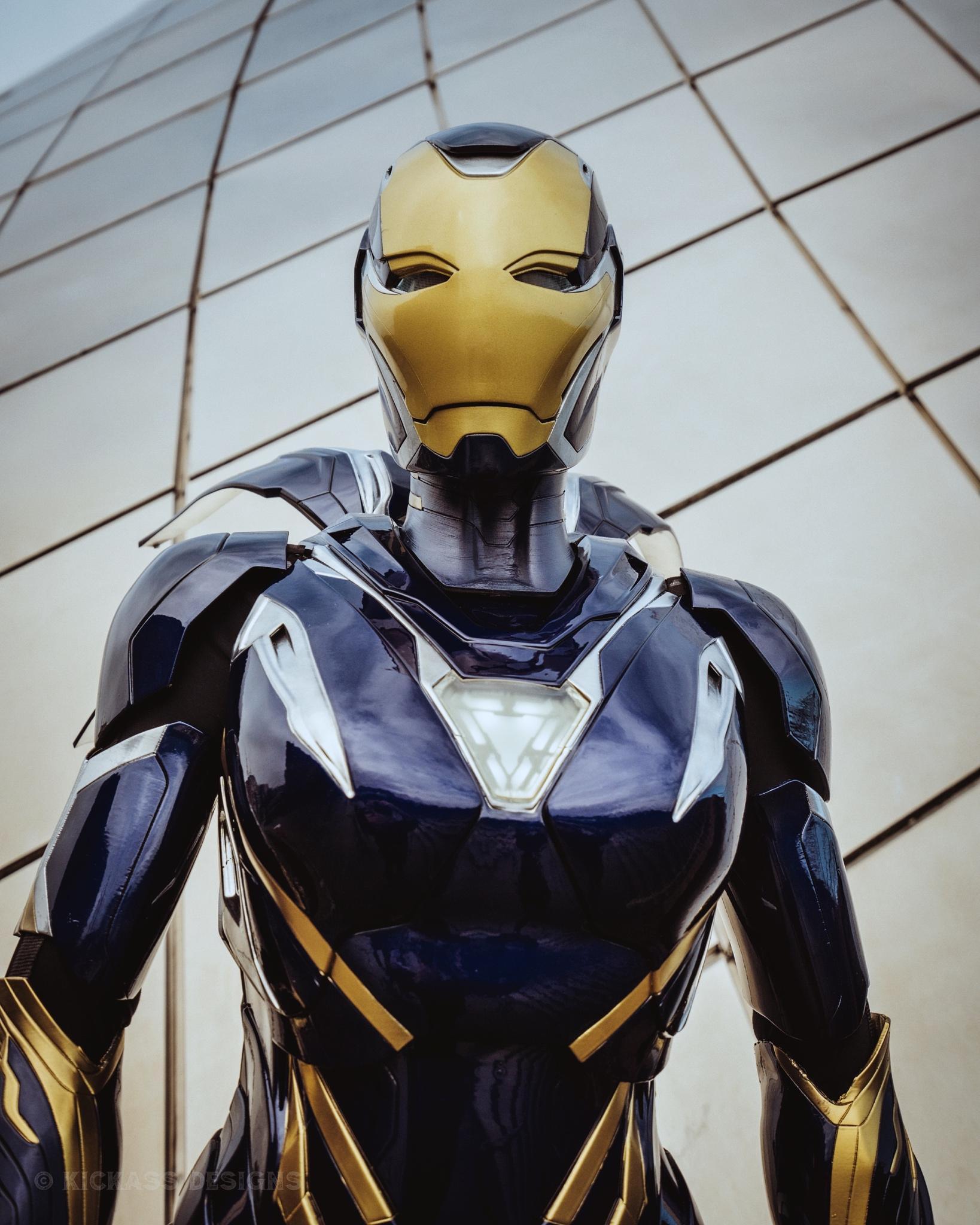 Avengers: Endgame: Bộ giáp Rescue ngoài đời thực sẽ trông như thế nào? Ảnh 8