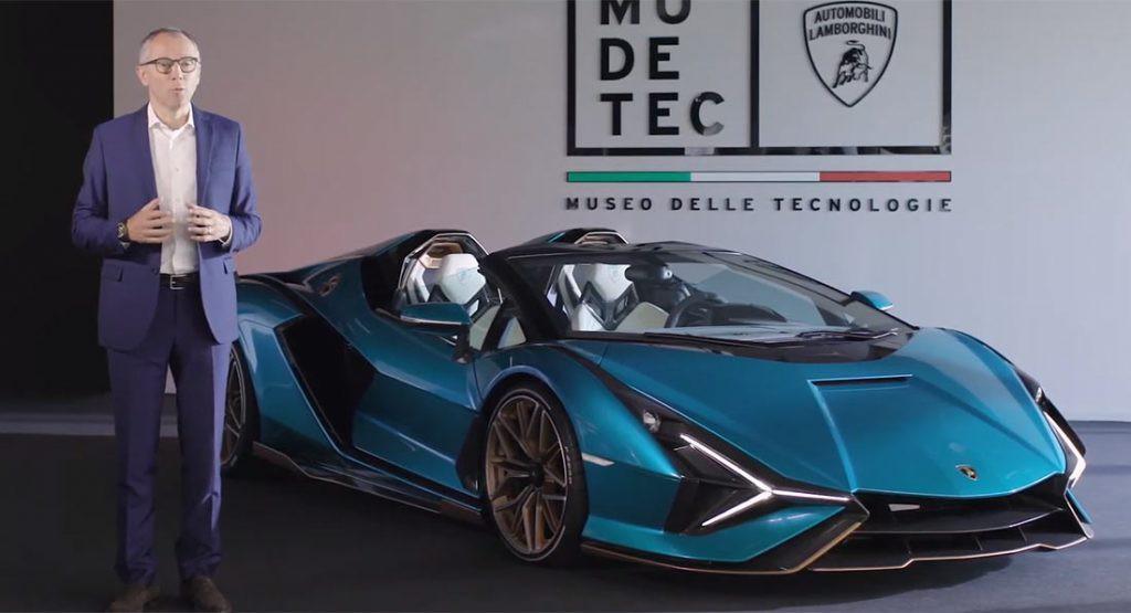 Chiêm ngưỡng Lamborghini Sían Roadster qua video Ảnh 1