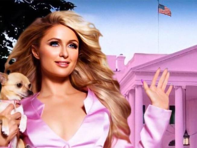 Paris Hilton muốn biến Nhà Trắng thành 'Nhà Hồng' Ảnh 1
