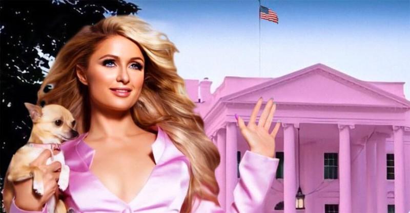 Paris Hilton muốn biến Nhà Trắng thành 'Nhà Hồng' Ảnh 2