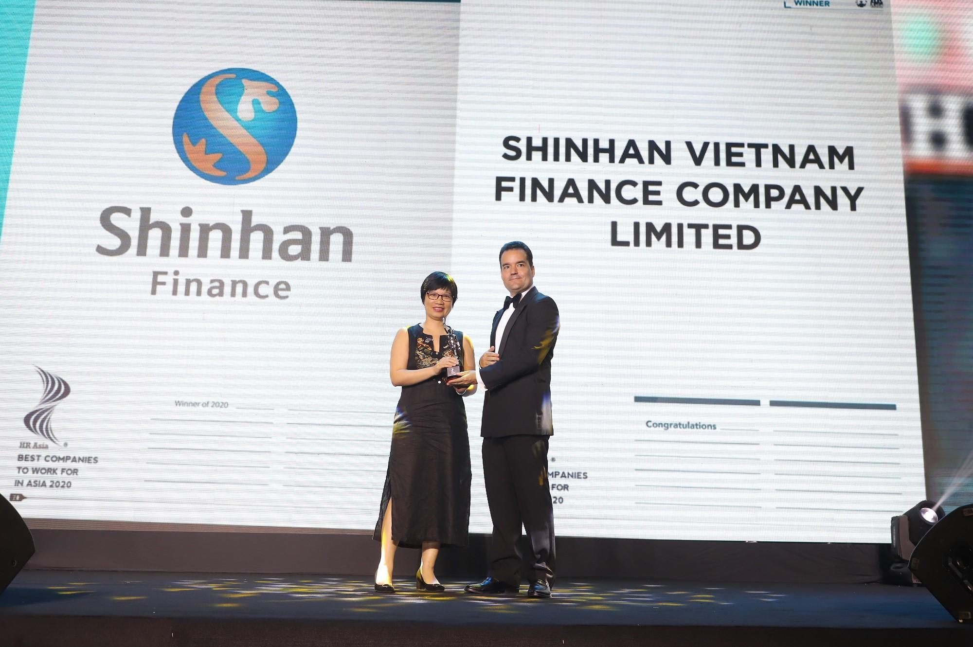 Shinhan Finance là một trong những nơi làm việc tốt nhất Châu Á năm 2020 theo HR Asia Ảnh 1