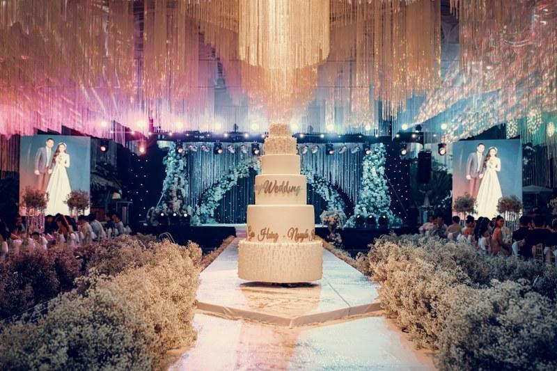 Không gian tiệc cưới xa hoa gây xôn xao tại Cần Thơ Ảnh 1