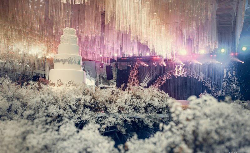 Không gian tiệc cưới xa hoa gây xôn xao tại Cần Thơ Ảnh 5
