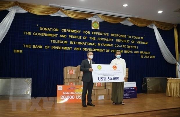 Việt Nam hỗ trợ Myanmar phòng chống đại dịch COVID-19 Ảnh 1