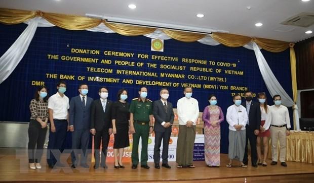 Việt Nam hỗ trợ Myanmar phòng chống đại dịch COVID-19 Ảnh 2
