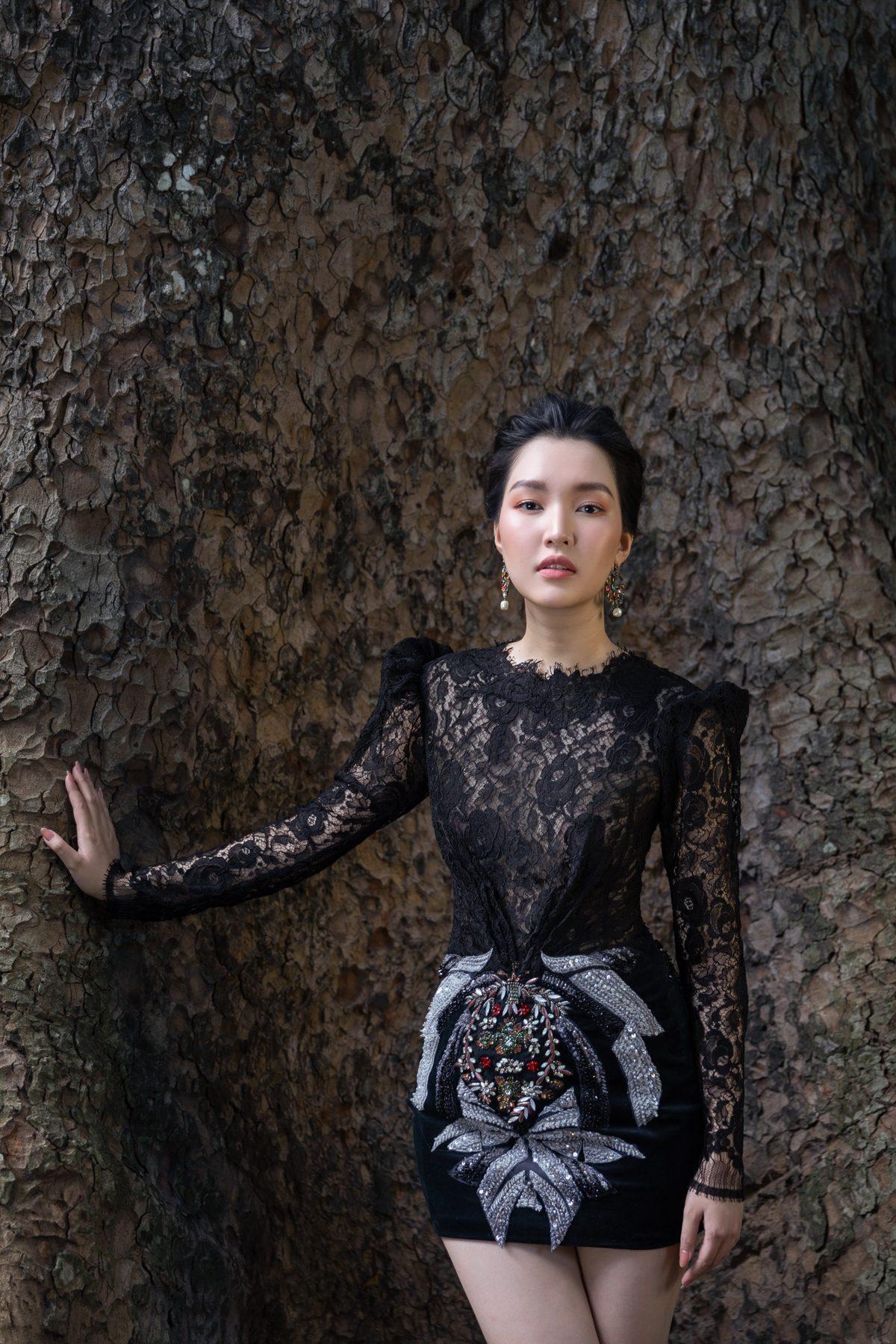 'Nàng thơ xứ Huế' Ngọc Trân cuốn hút với nét mơ màng trong loạt váy áo e ấp Ảnh 24