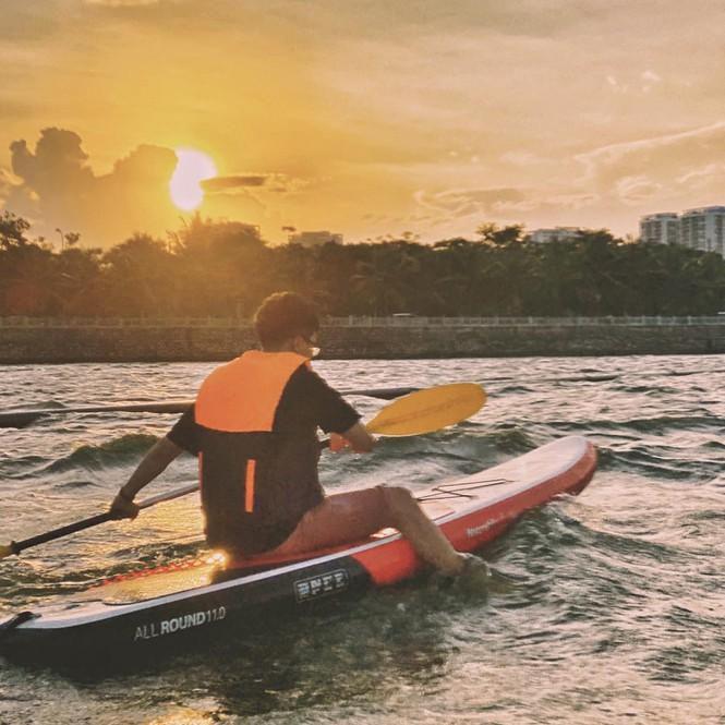 Hà Nội: Chèo thuyền SUP Hồ Tây không mới nhưng lạ, bạn đã thử chưa? Ảnh 6