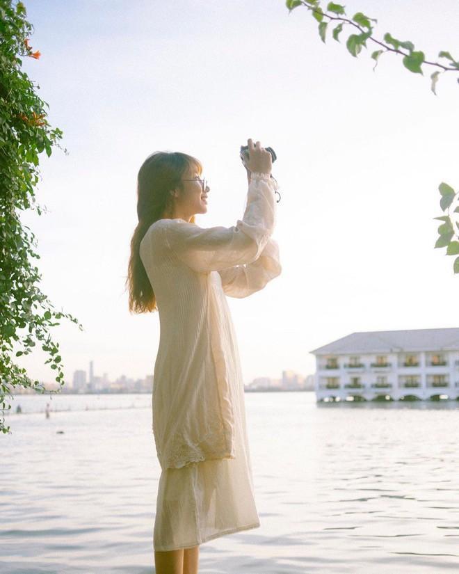 Hoàng hôn hồ Tây: Điểm check-in, thư giãn của giới trẻ Hà Thành Ảnh 6