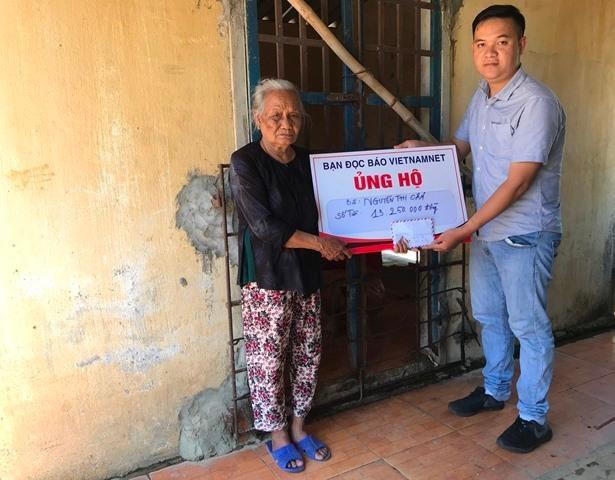 Trao hơn 50 triệu đồng cho 2 gia đình có hoàn cảnh éo le ở Quảng Ngãi Ảnh 2