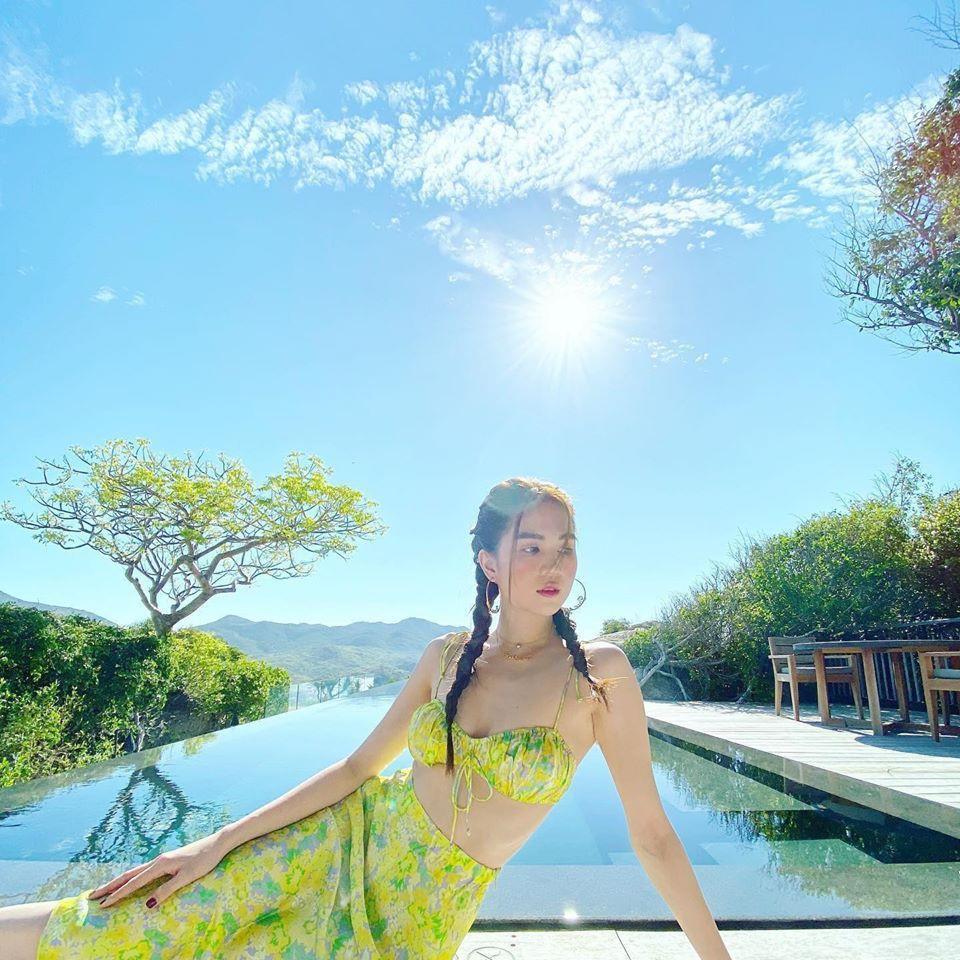 Ngọc Trinh tung ảnh bikini mừng sinh nhật tuổi 31 Ảnh 6