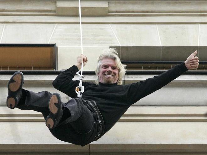 Những khoảnh khắc kỳ lạ trong cuộc đời tỷ phú lập dị Richard Branson Ảnh 7
