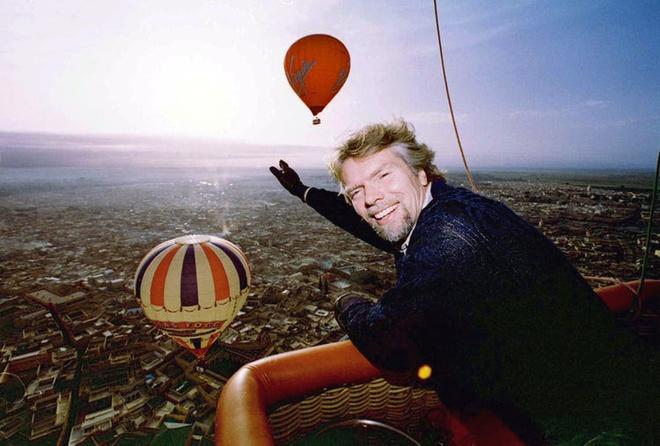 Những khoảnh khắc kỳ lạ trong cuộc đời tỷ phú lập dị Richard Branson Ảnh 6