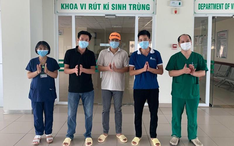 Thêm 3 bệnh nhân COVID-19 được công bố khỏi bệnh Ảnh 1