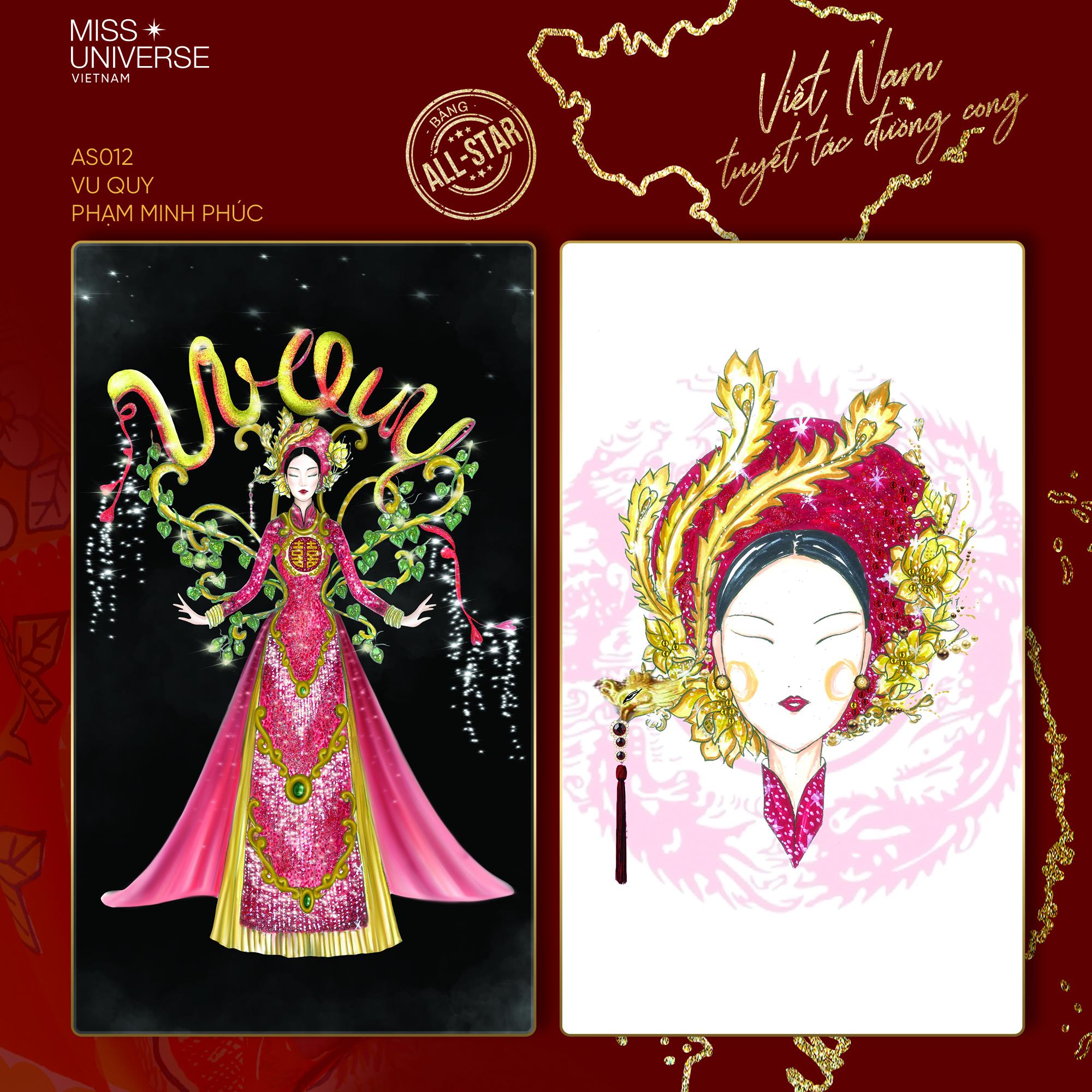 Chủ nhân National Costume Nàng Mây thiết kế váy tàu điện Metro cho Khánh Vân: Cổng trường cũng thành trang phục cực chất Ảnh 8