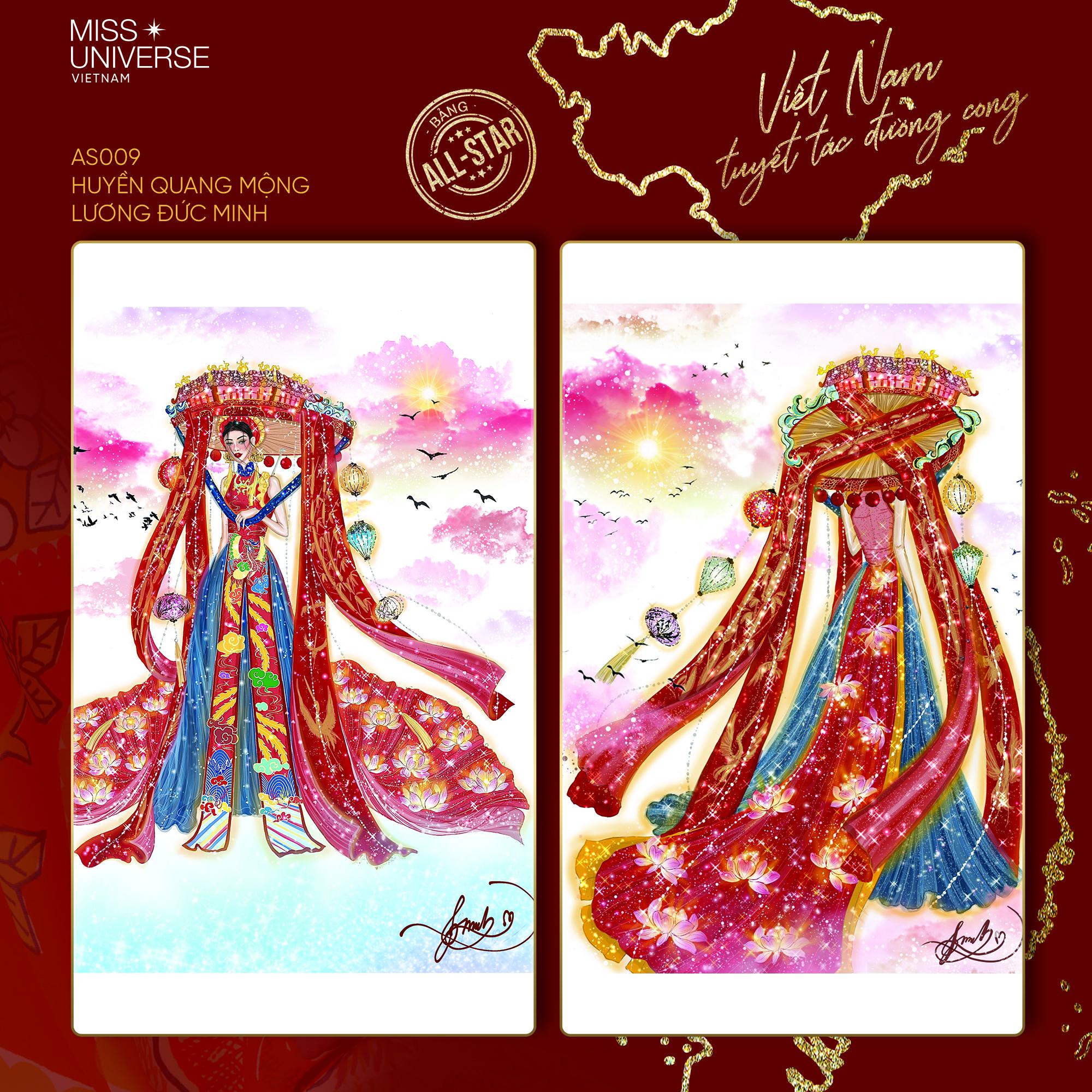 Chủ nhân National Costume Nàng Mây thiết kế váy tàu điện Metro cho Khánh Vân: Cổng trường cũng thành trang phục cực chất Ảnh 2