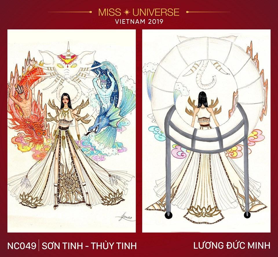 Chủ nhân National Costume Nàng Mây thiết kế váy tàu điện Metro cho Khánh Vân: Cổng trường cũng thành trang phục cực chất Ảnh 3