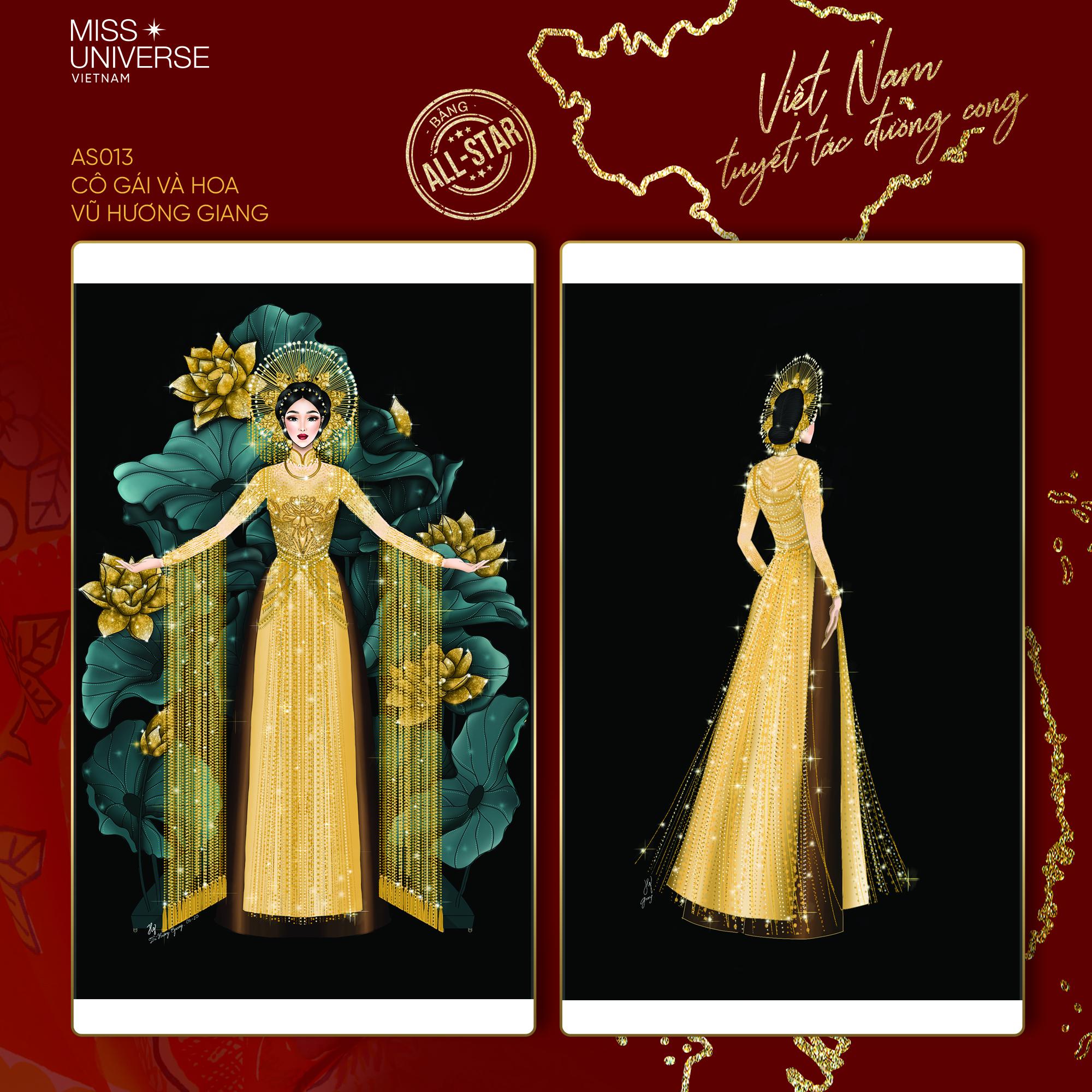 Chủ nhân National Costume Nàng Mây thiết kế váy tàu điện Metro cho Khánh Vân: Cổng trường cũng thành trang phục cực chất Ảnh 11