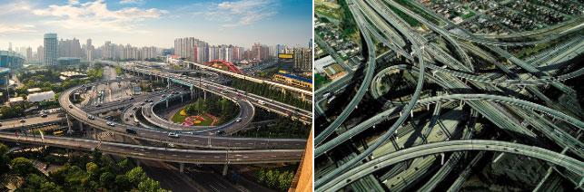 Những giao lộ chằng chịt như mê cung, phức tạp bậc nhất thế giới Ảnh 6