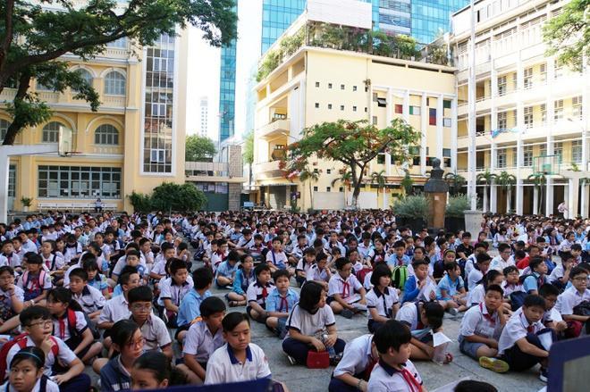 Thi lớp 6 trường chuyên Trần Đại Nghĩa, một học sinh 'chọi' 7 Ảnh 1