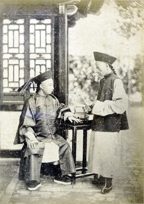 Loạt ảnh chân dung quý tộc cuối triều đại nhà Thanh Ảnh 7