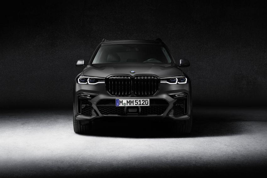 Cận cảnh BMW X7 Dark Shadow Edition ra mắt chỉ với 500 chiếc Ảnh 2