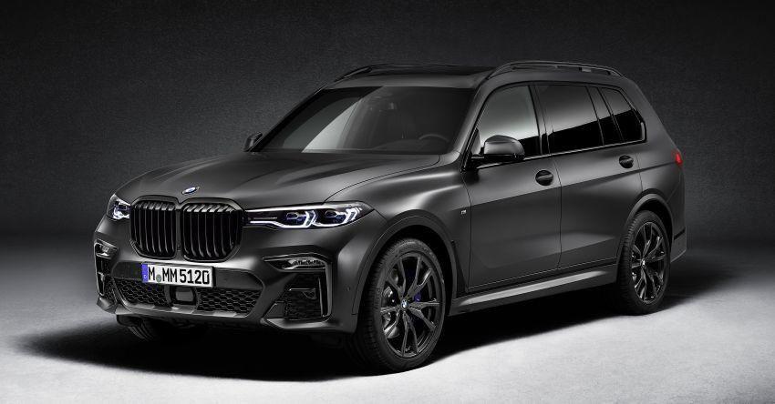 Cận cảnh BMW X7 Dark Shadow Edition ra mắt chỉ với 500 chiếc Ảnh 1