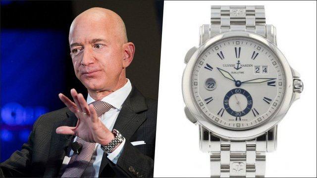 Các tỷ phú thế giới đeo đồng hồ gì? Ảnh 1