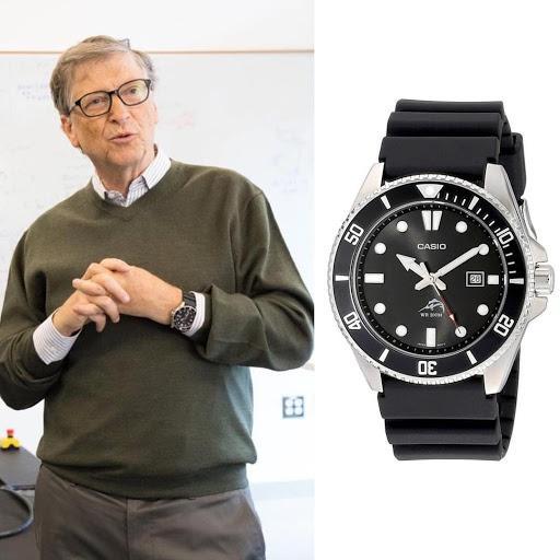 Các tỷ phú thế giới đeo đồng hồ gì? Ảnh 2