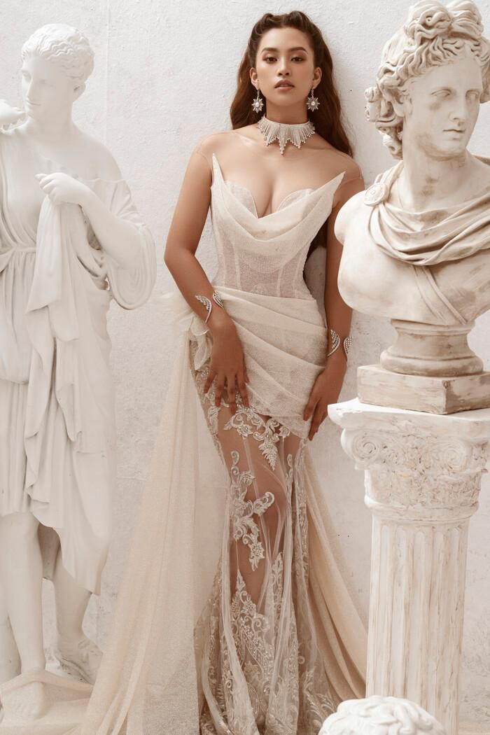 Hoa hậu Tiểu Vy hóa nữ thần trễ nải, dung mạo quyến rũ ai nhìn cũng đắm say Ảnh 6