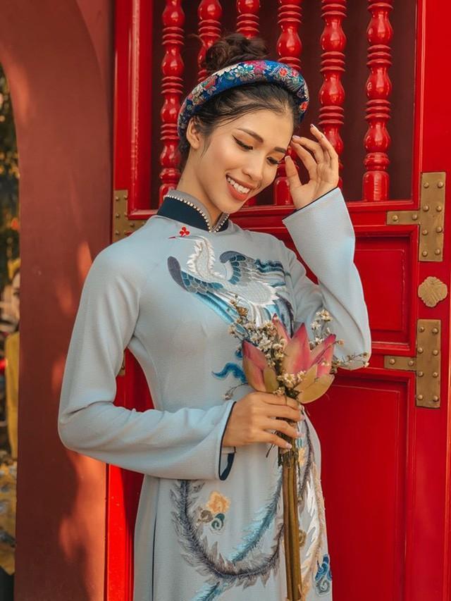 Gái xinh Huế có gương mặt cực Tây thi Hoa hậu Việt Nam 2020 Ảnh 9