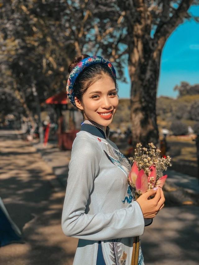 Gái xinh Huế có gương mặt cực Tây thi Hoa hậu Việt Nam 2020 Ảnh 10