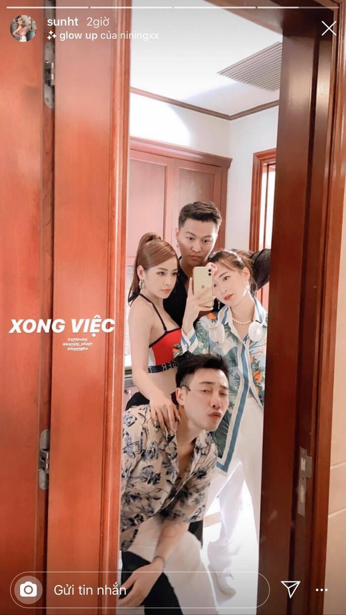 Sun HT khoe ảnh cùng Chi Pu, Kenshj Phạm và Hoàng Ku, dân tình bất ngờ: 'Hội bạn thân mới đây rồi?' Ảnh 2