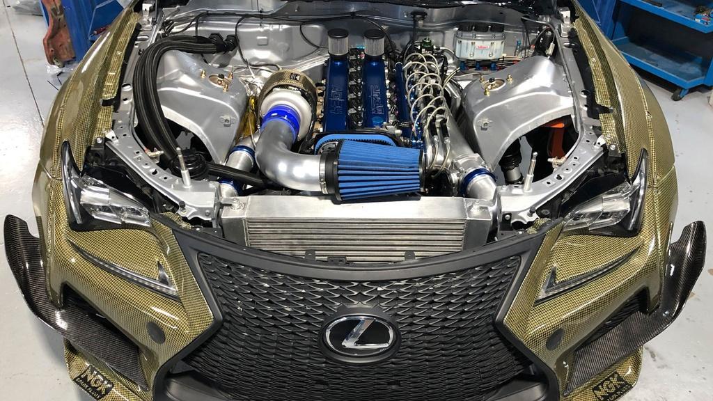 Lexus RC F Carbon Kelvar - xe thể thao siêu nhẹ mạnh 1.200 mã lực Ảnh 5