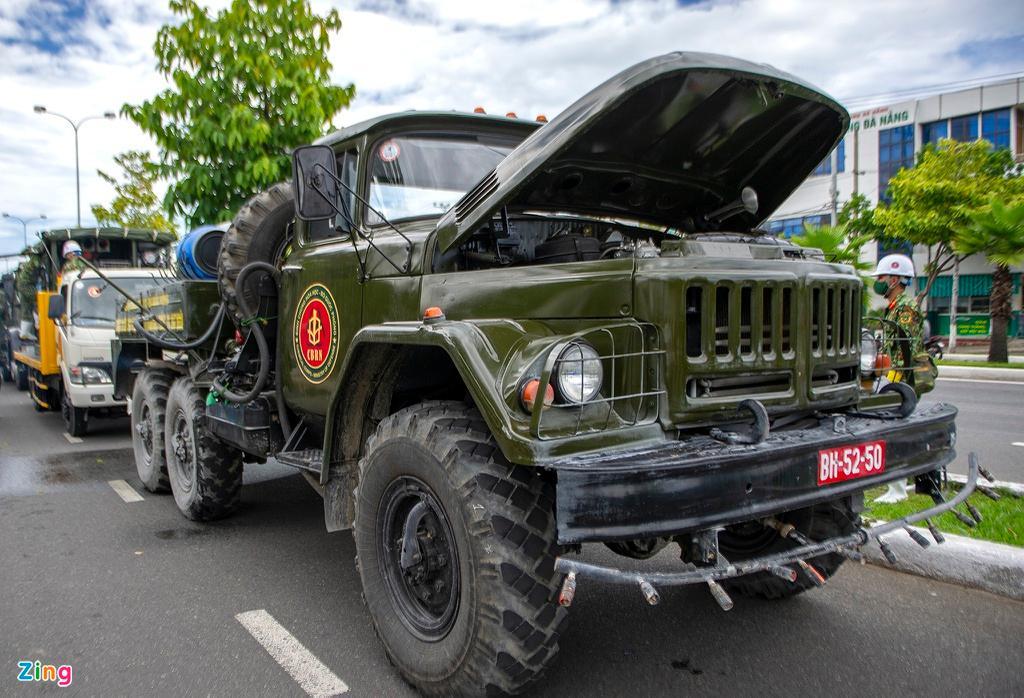 7 xe chuyên dụng trong đợt phun hóa chất quy mô lớn nhất tại Đà Nẵng Ảnh 1