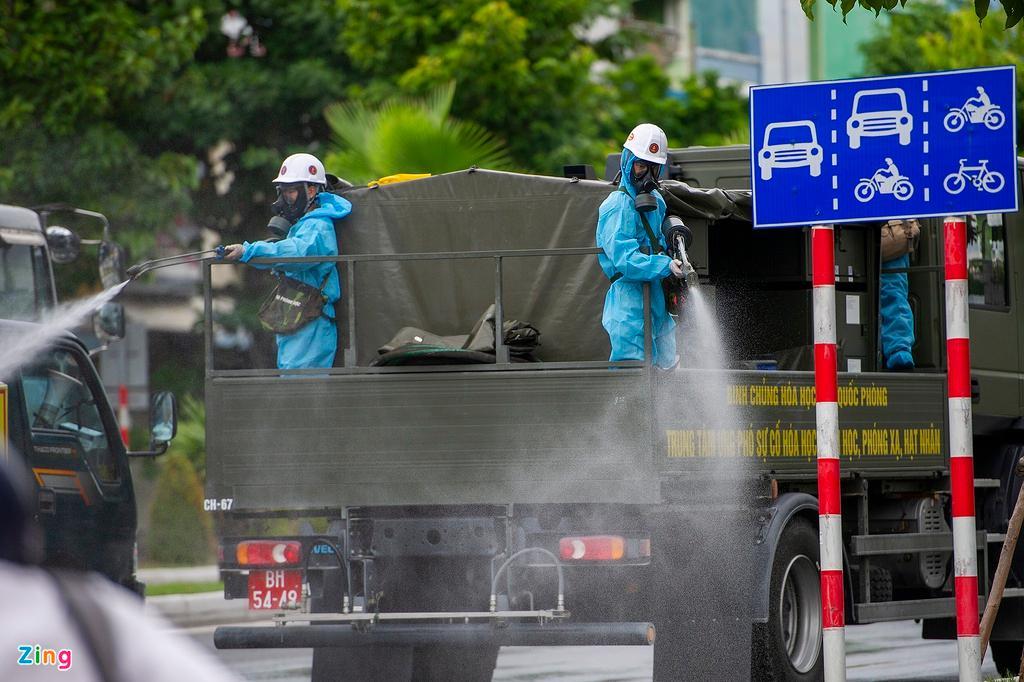 7 xe chuyên dụng trong đợt phun hóa chất quy mô lớn nhất tại Đà Nẵng Ảnh 7