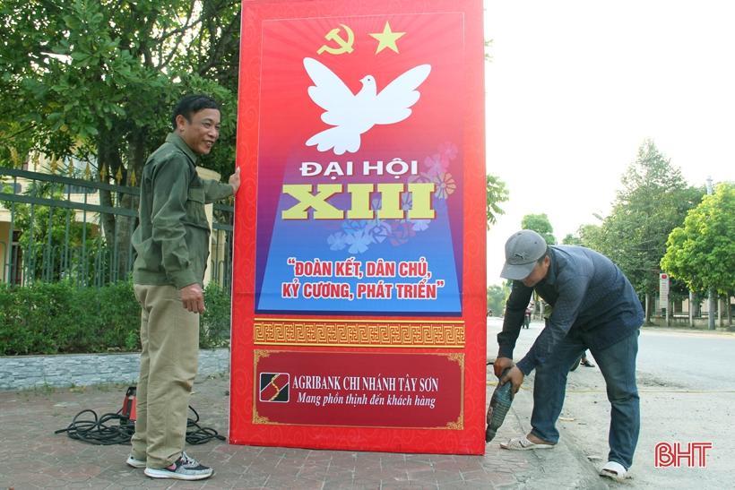 Hương Sơn rực rỡ cờ hoa trước ngày hội lớn Ảnh 8