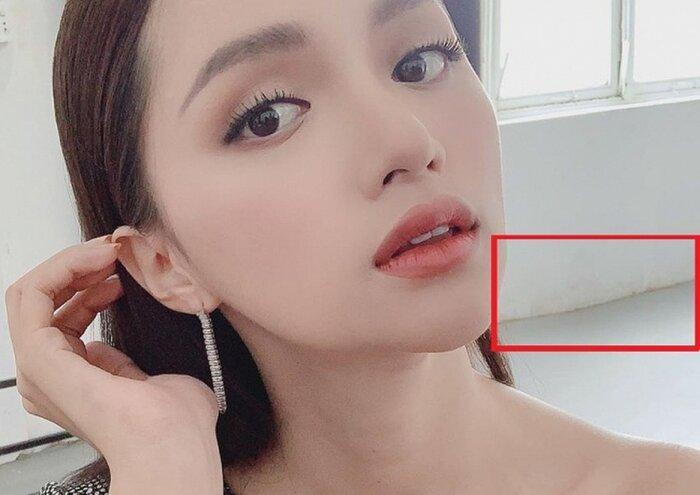 Dung mạo xinh đẹp nhưng Hương Giang vẫn nhiều lần bị 'bóc mẽ' chỉnh ảnh quá đà Ảnh 4