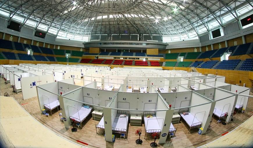 Bệnh viện dã chiến Cung thể thao Tiên Sơn tại Đà Nẵng Ảnh 6