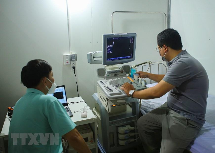 Bệnh viện dã chiến Cung thể thao Tiên Sơn tại Đà Nẵng Ảnh 13